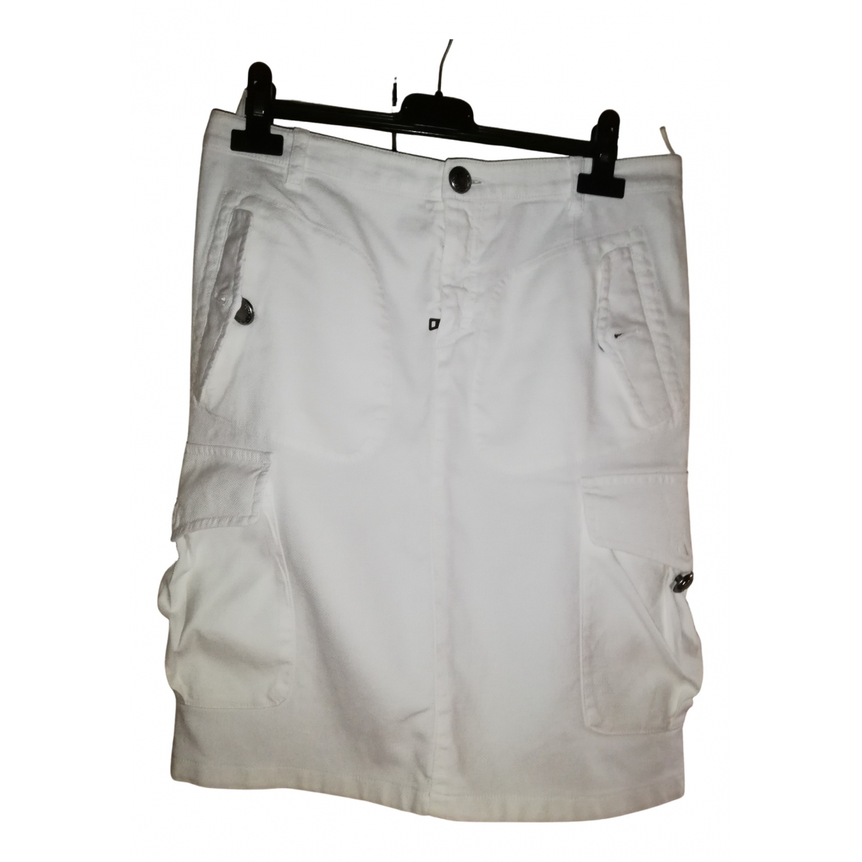 Prada - Jupe   pour femme en coton - blanc