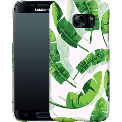 Samsung Galaxy S7 Smartphone Huelle - Banana Leaf von Mukta Lata Barua
