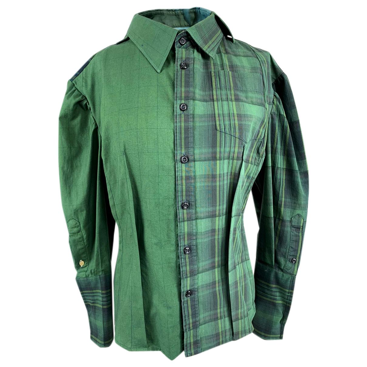 - Top   pour femme en coton - vert