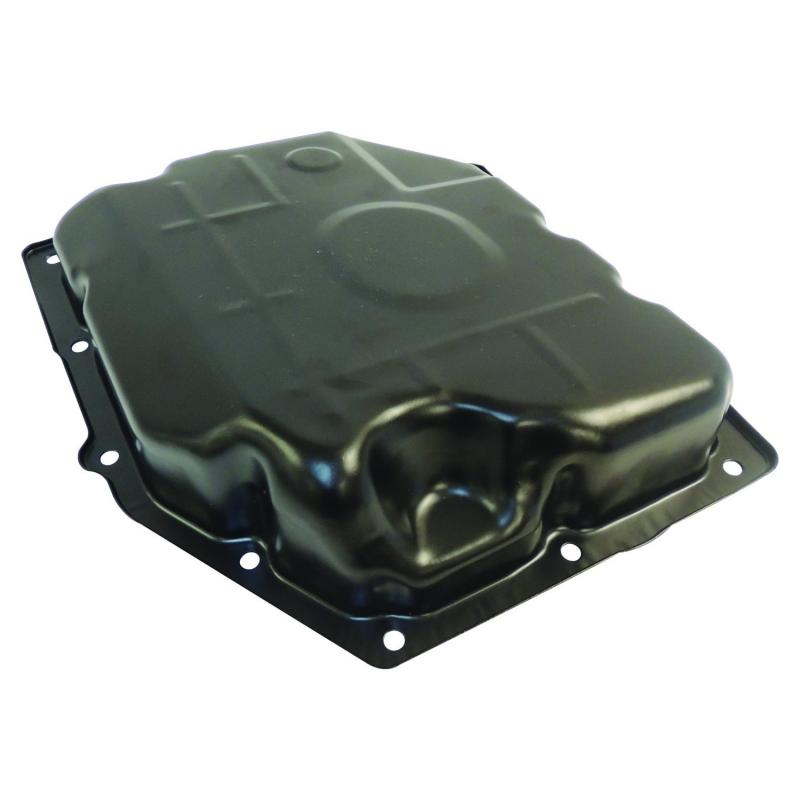 Crown Automotive 52852912AC Jeep Replacement Transmission Pan, Black, Steel