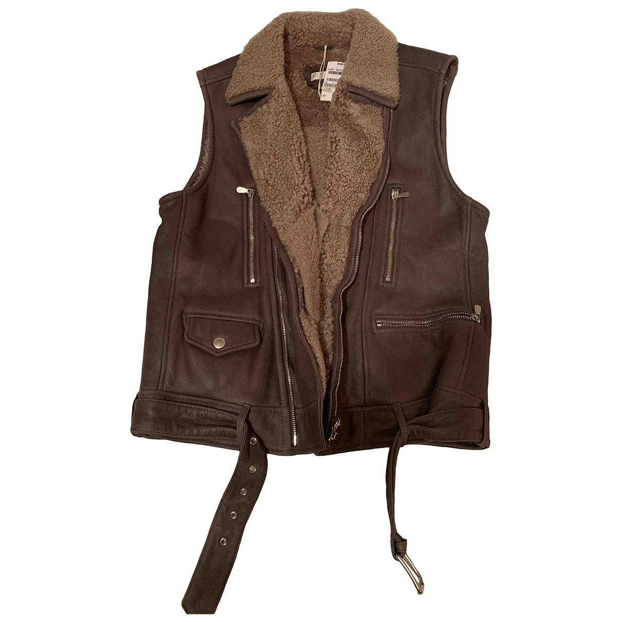 Brunello Cucinelli \N Jacke in  Anthrazit Schaf