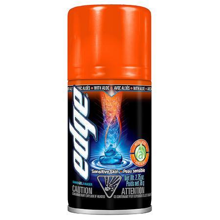 Edge Sensitive Skin Shave Gel for Men Sensitive Skin with Aloe - 2.75 oz