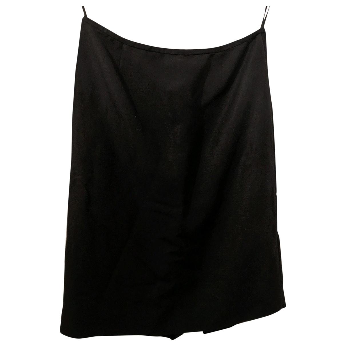 Calvin Klein \N Rocke in  Schwarz Baumwolle