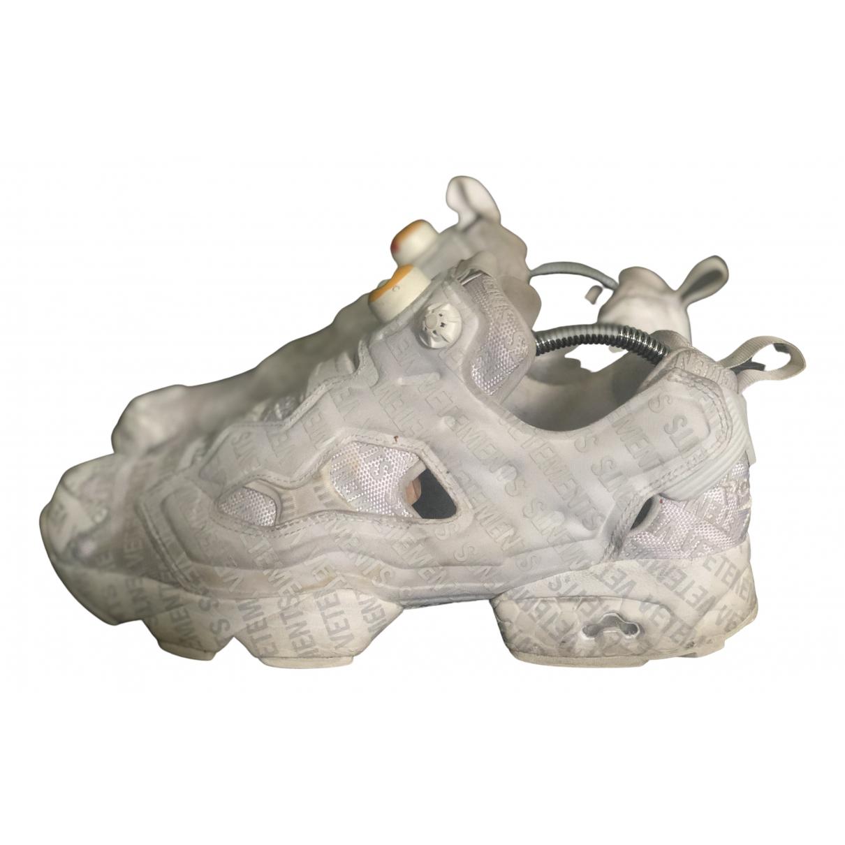 Vetements \N Sneakers in  Grau Kautschuk
