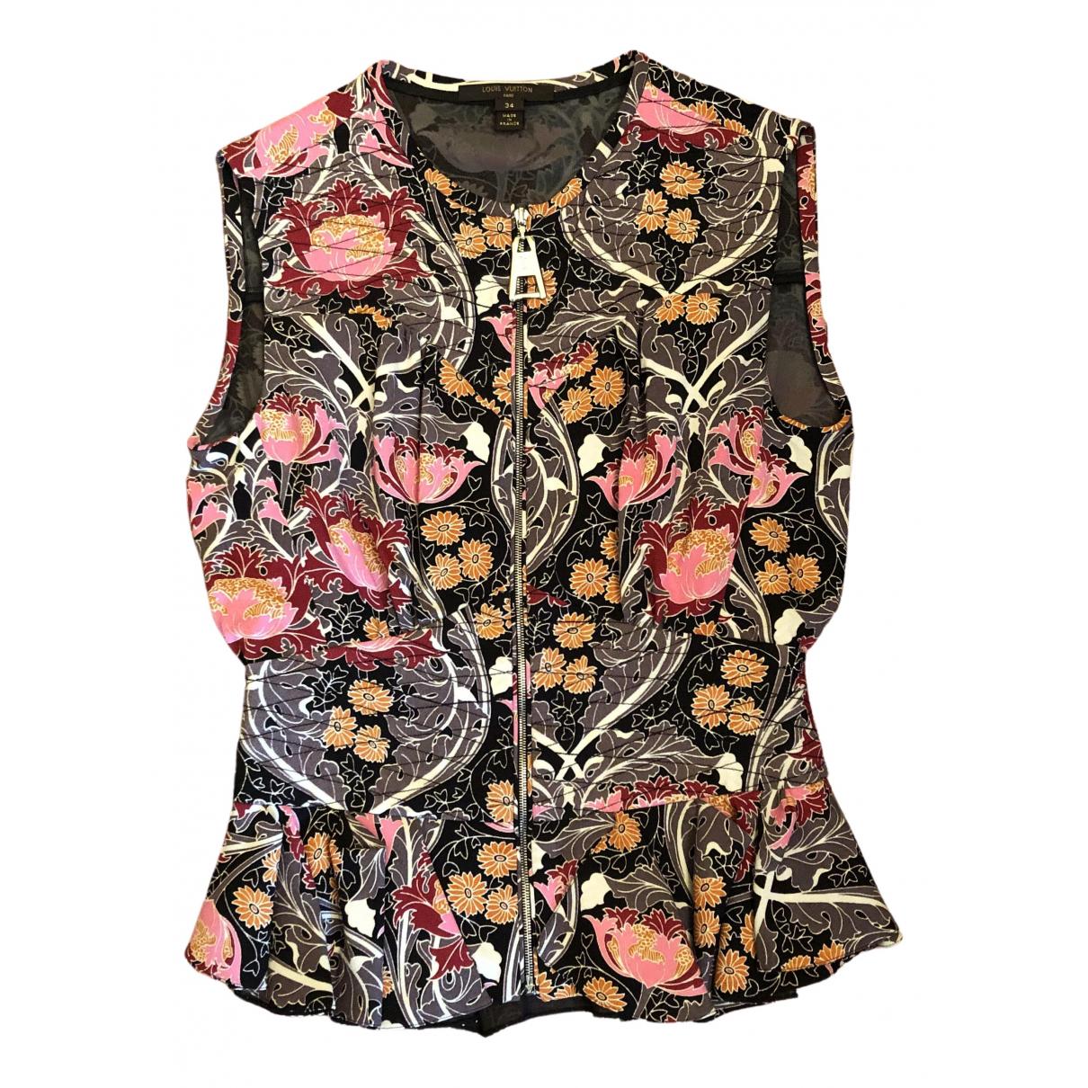 Louis Vuitton - Veste   pour femme en soie - multicolore