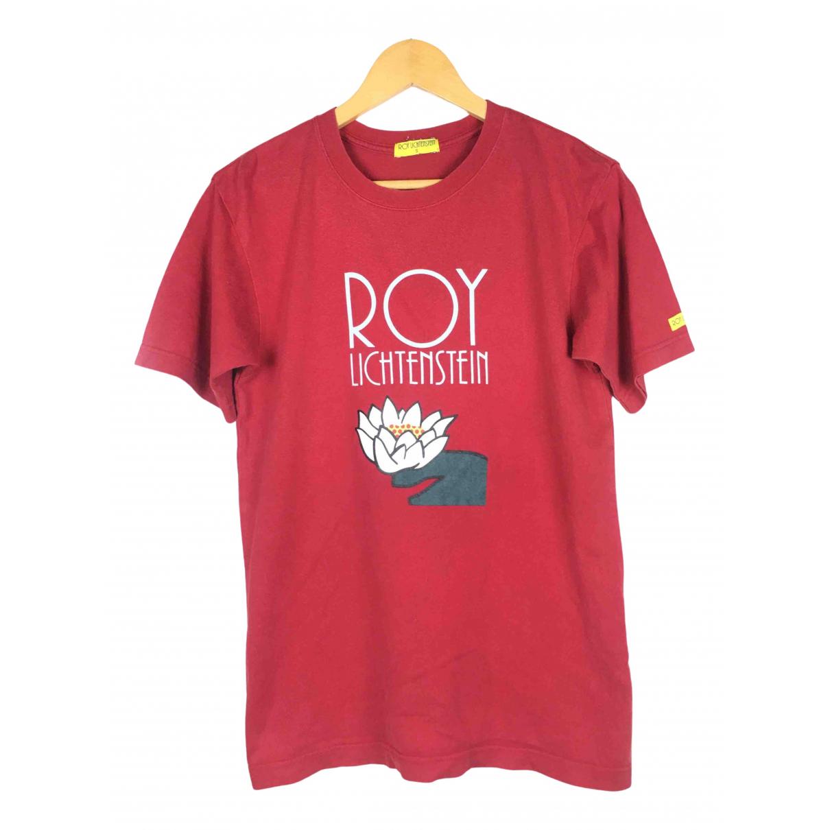 Roy Lichtenstein - Top   pour femme en coton - rouge