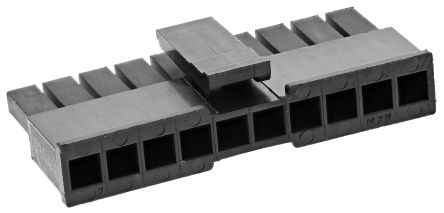 Molex , Micro-Fit 3.0 Female Connector Housing, 3mm Pitch, 10 Way, 1 Row (5)