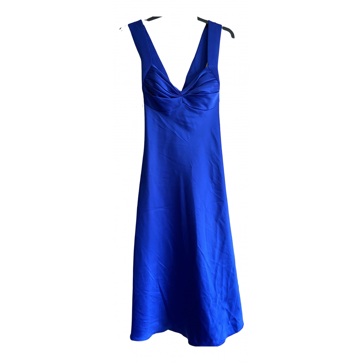 Calvin Klein \N Kleid in  Blau Polyester