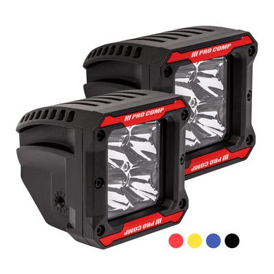 Pro Comp 2x2 Square S4 GEN3 LED Spot Lights - 76414P