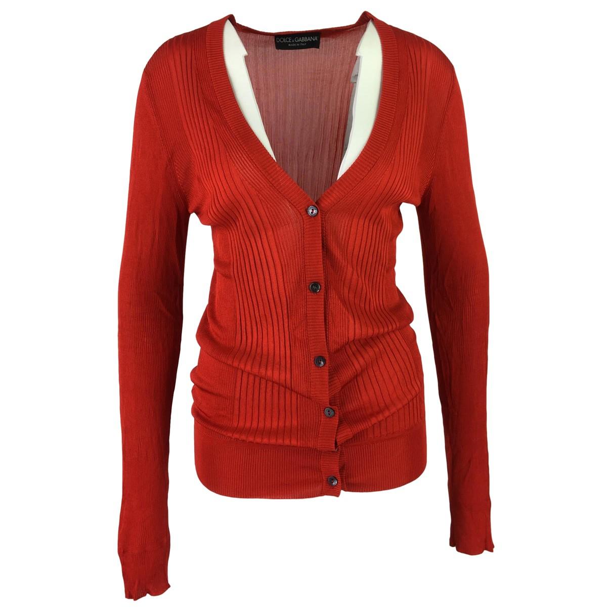 Dolce & Gabbana - Pull   pour femme - orange