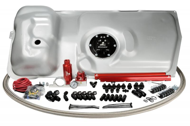 Aeromotive 17131 Fuel System Eliminator System,86-95 Ford Mustang, 5.0L.(Supercedes 17106 and; 17148) Ford Mustang 1986-1995