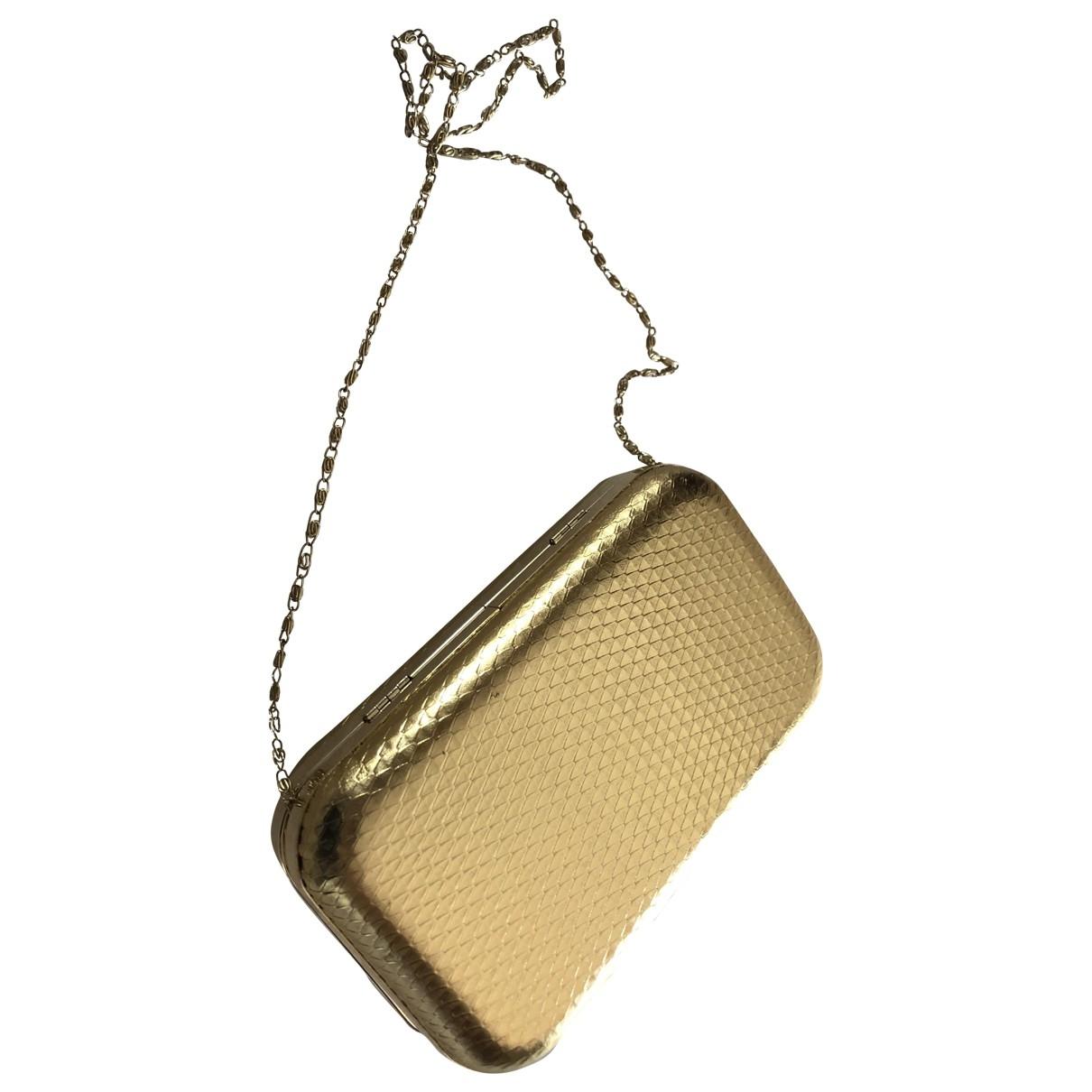 Velvet \N Gold Glitter Clutch bag for Women \N