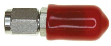 TE Connectivity Straight 50Ω RF Adapter SMC Plug to SMA Socket 4GHz