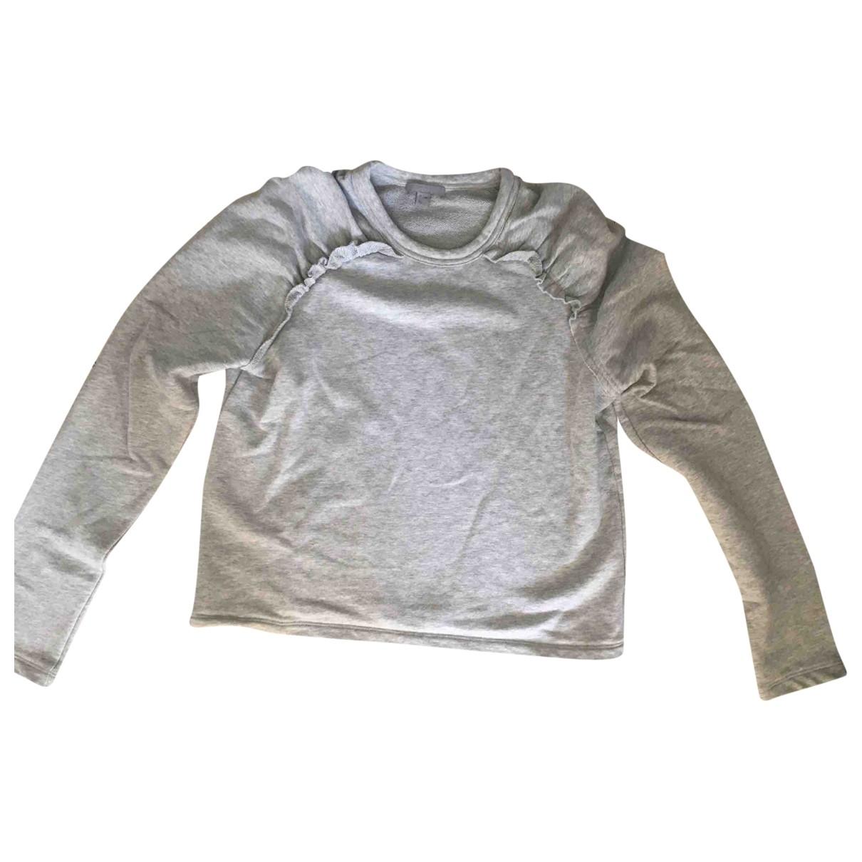 Cos \N Pullover in  Grau Baumwolle