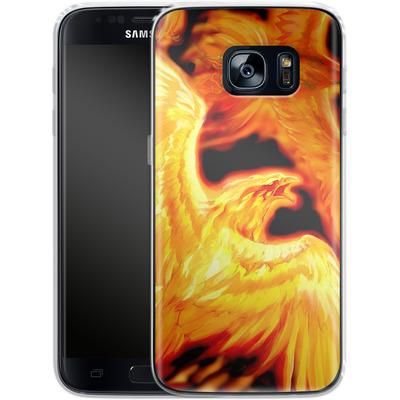 Samsung Galaxy S7 Silikon Handyhuelle - Ruth Thompson - Phoenix Dawn von TATE and CO
