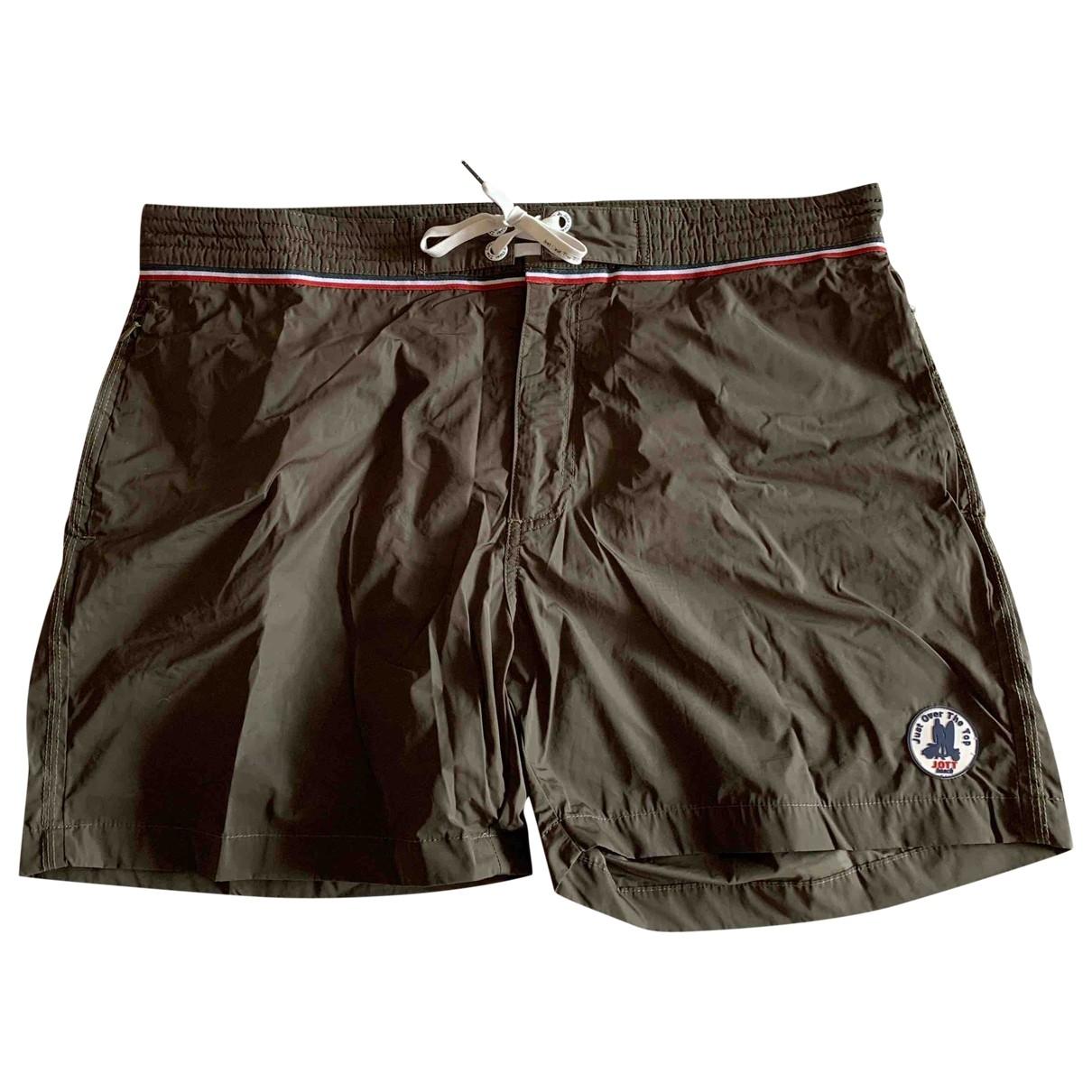 Jott \N Khaki Swimwear for Men XXL International