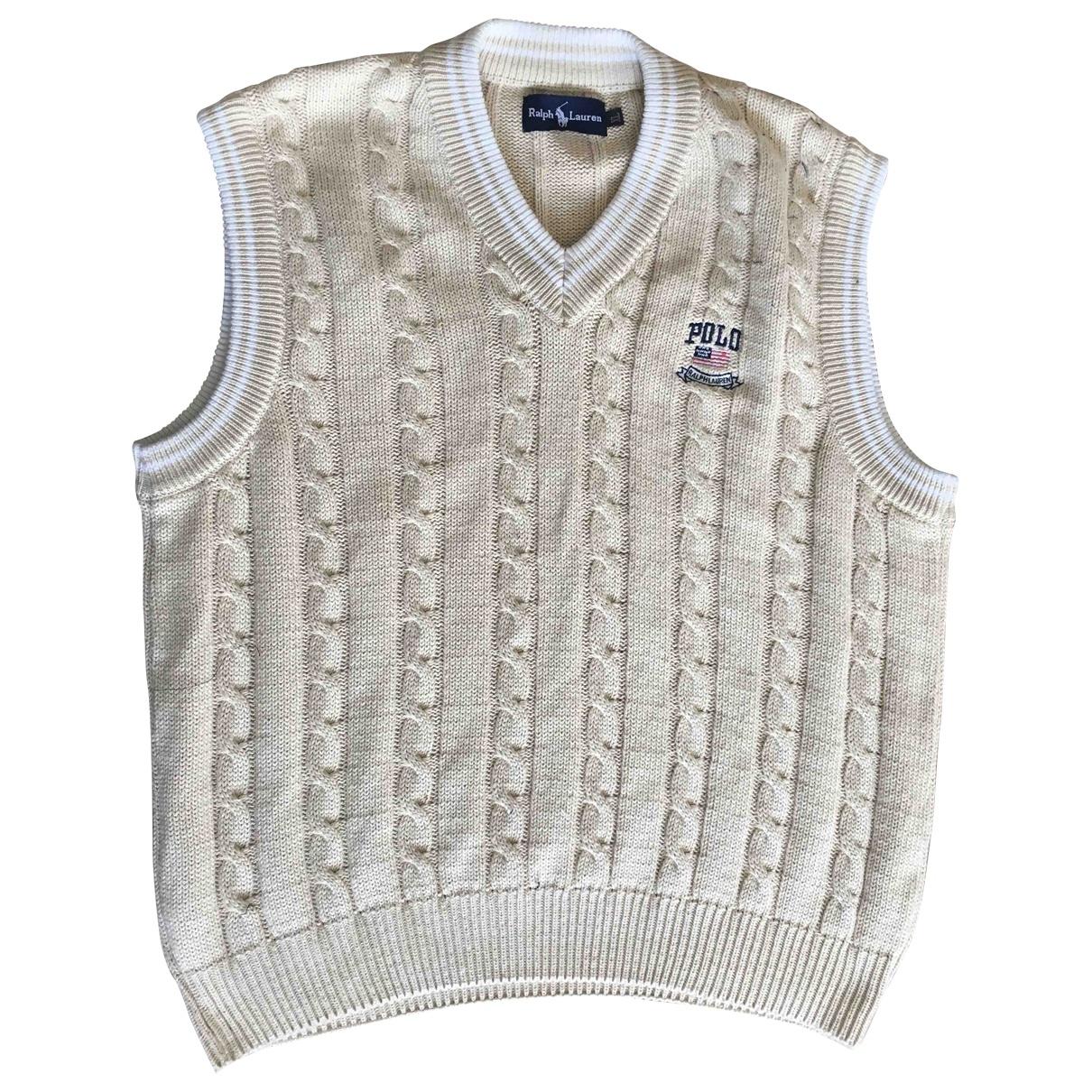 Ralph Lauren \N Beige Wool Knitwear & Sweatshirts for Men XL International
