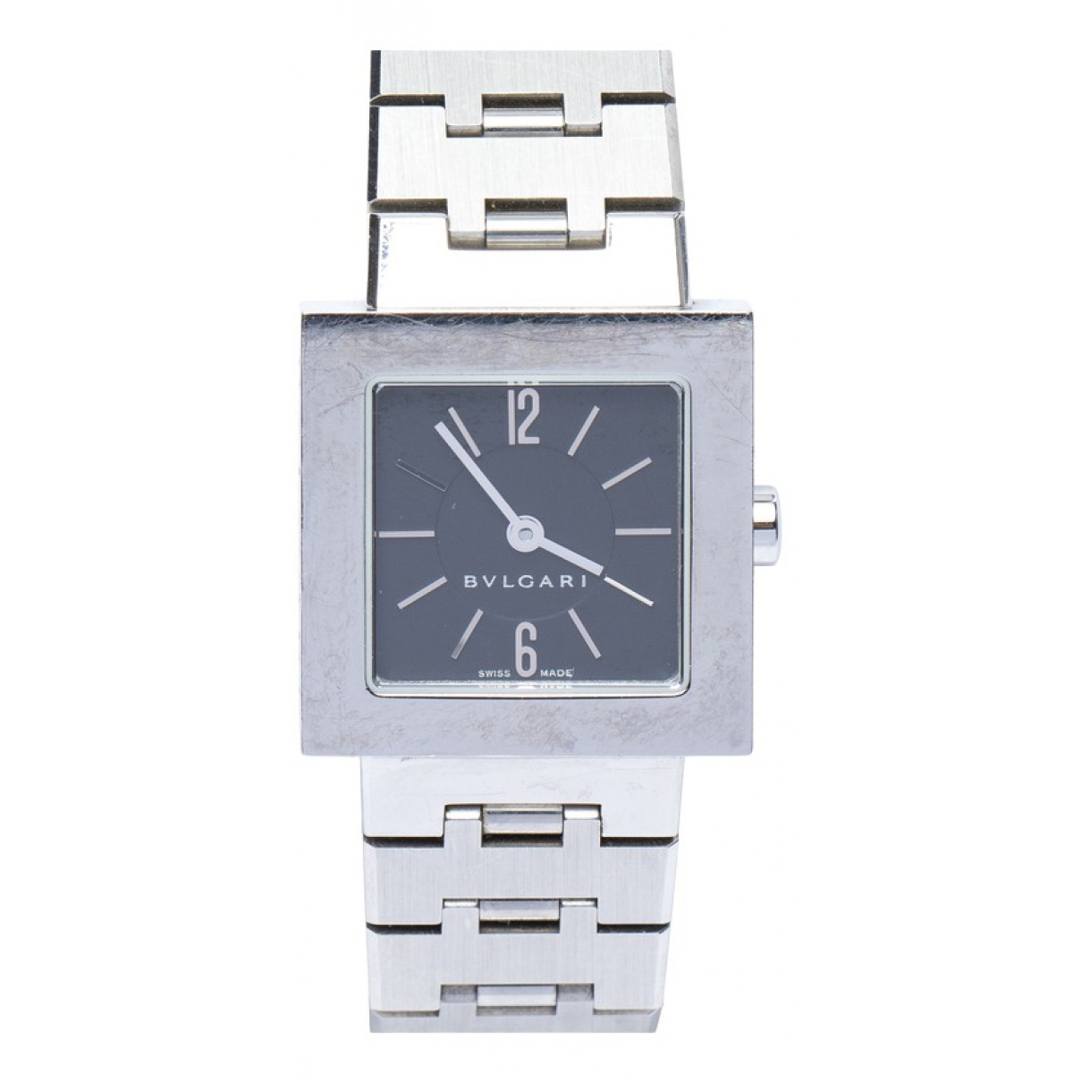 Bvlgari \N Metallic Steel watch for Women \N