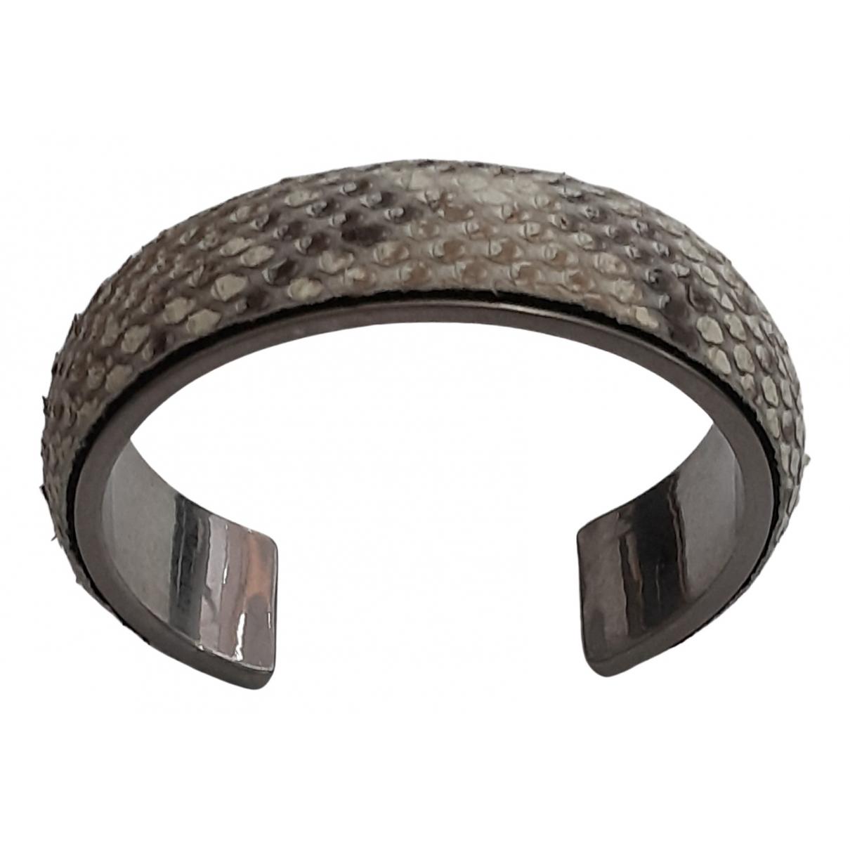 Saint Laurent - Bracelet   pour femme en python