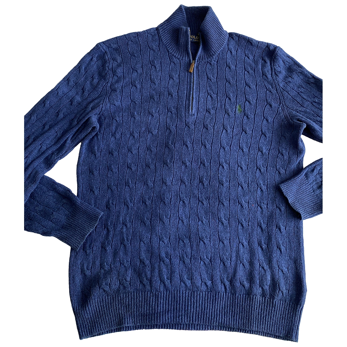 Polo Ralph Lauren \N Pullover.Westen.Sweatshirts  in  Blau Seide