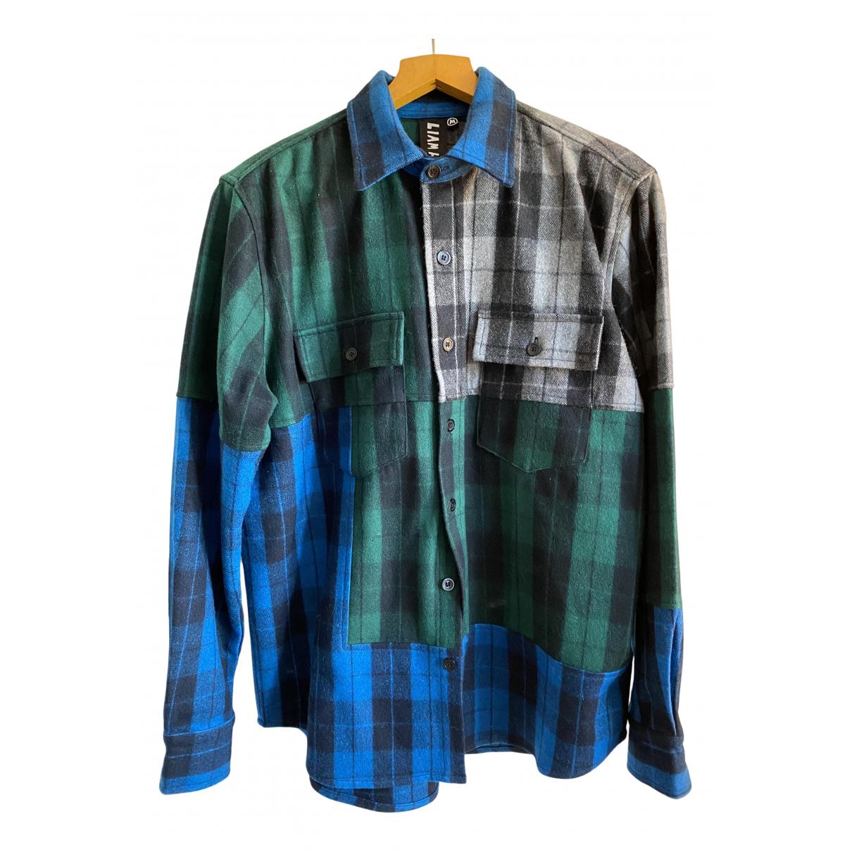 Camisas de Lana Liam Hodges