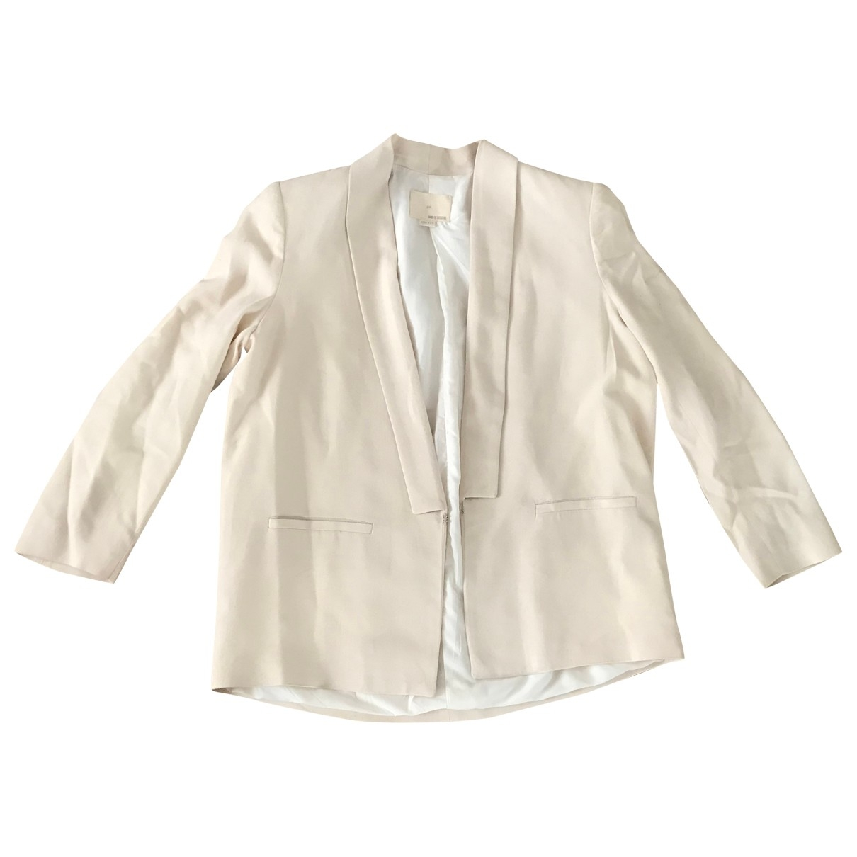 Band Of Outsiders - Veste   pour femme - ecru