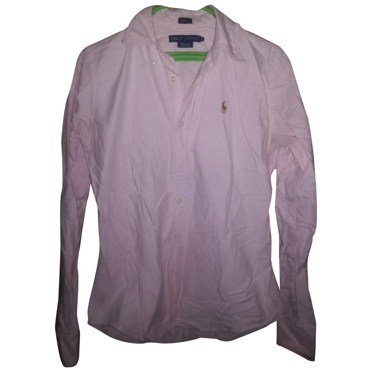 Lauren Ralph Lauren \N Pink Cotton  top for Women 6 UK