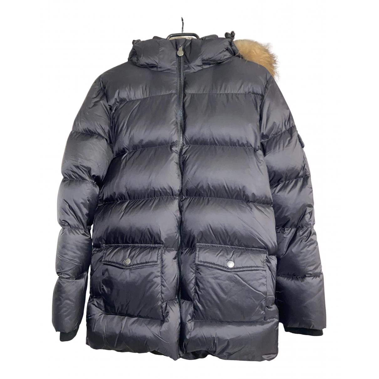 Pyrenex - Blousons.Manteaux   pour enfant en castor - noir