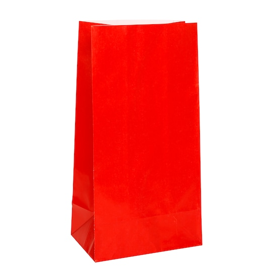 2 Pack of Red Paper Party Bags, 12Ct By Unique | Michaels®