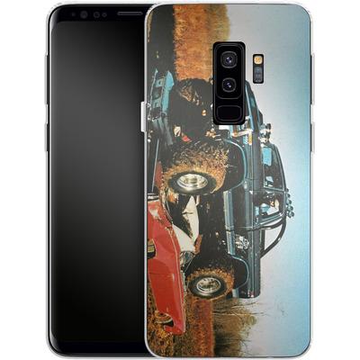 Samsung Galaxy S9 Plus Silikon Handyhuelle - Bigfoot Seventies von Bigfoot 4x4