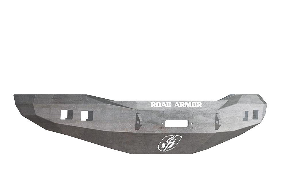 DODGE Front Winch Bumper Square Light Ports 1500 RAM 06-08 RAW Road Armor 407R0Z Stealth Series