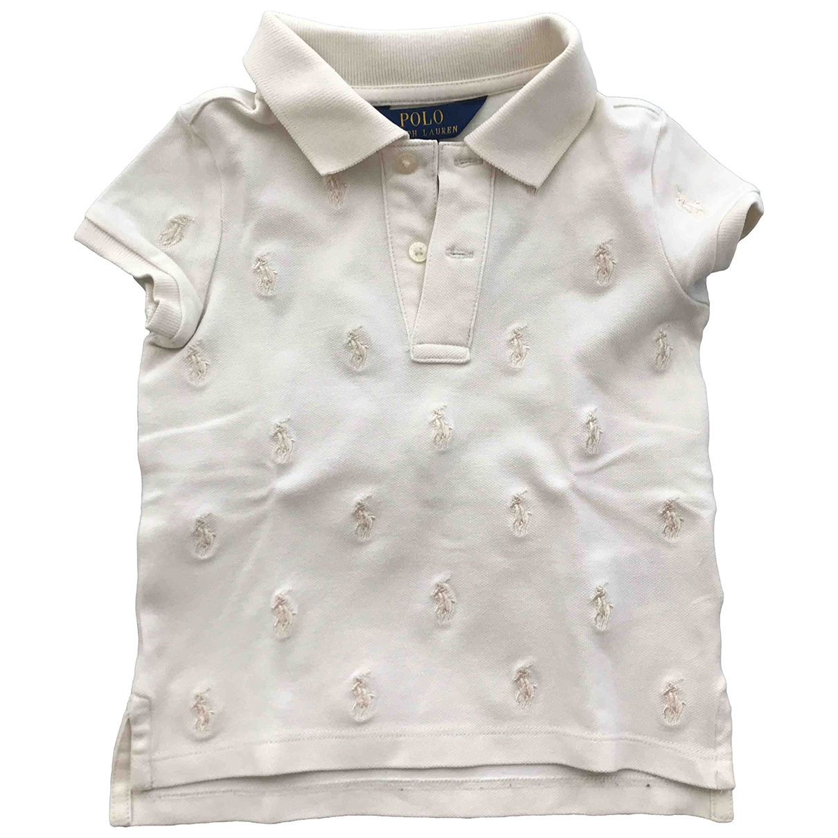 Polo Ralph Lauren \N Ecru Cotton  top for Kids 3 years - up to 98cm FR