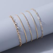 5 Stuecke einfacher Armband