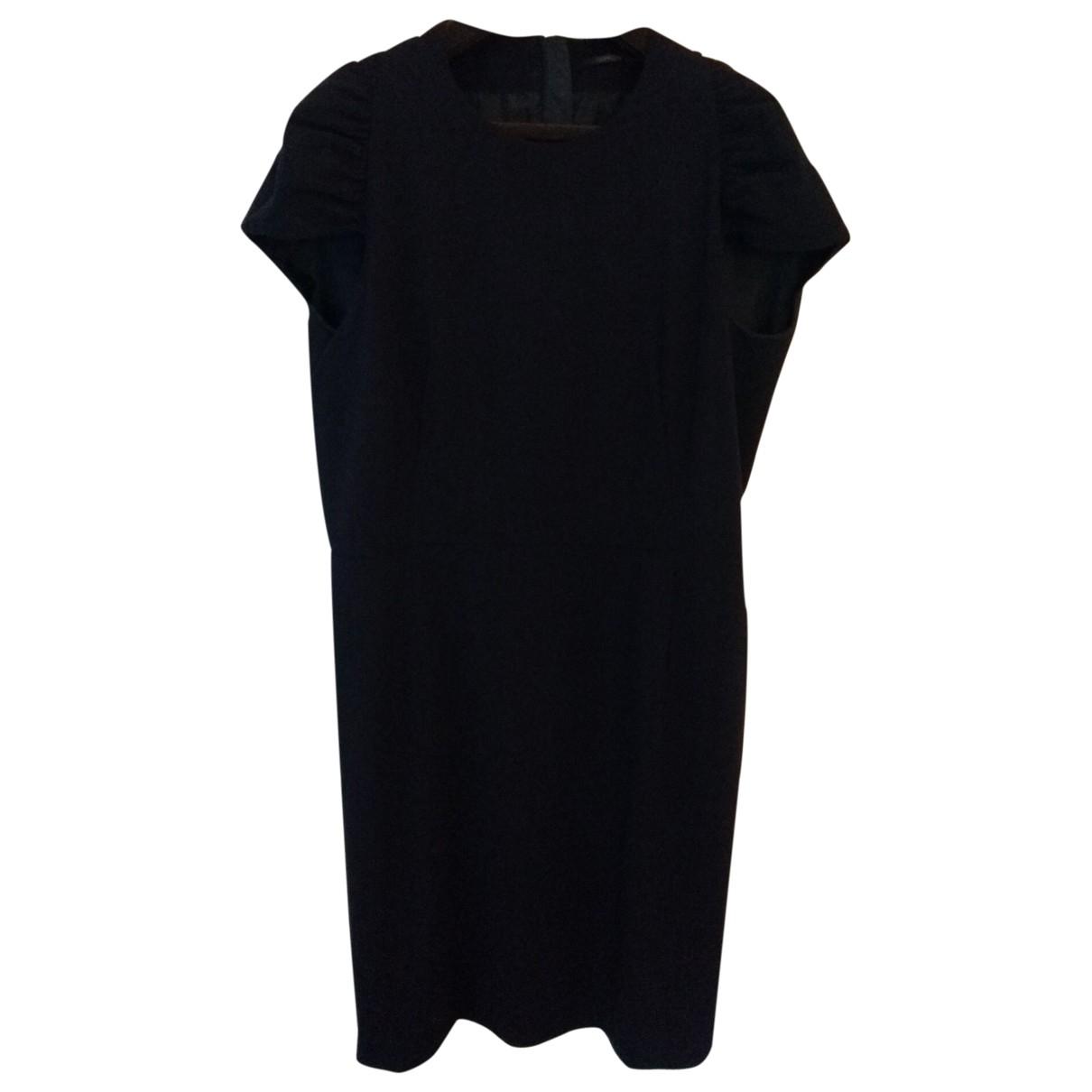 Agnona \N Blue Wool dress for Women 48 IT
