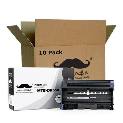 Compatible Brother DR350 tambour - Moustache@ - 10/paquet