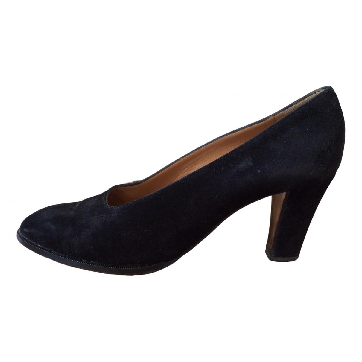 Hermès \N Black Pony-style calfskin Heels for Women 38.5 EU