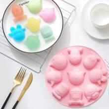 Molde de pastel con dibujos animados