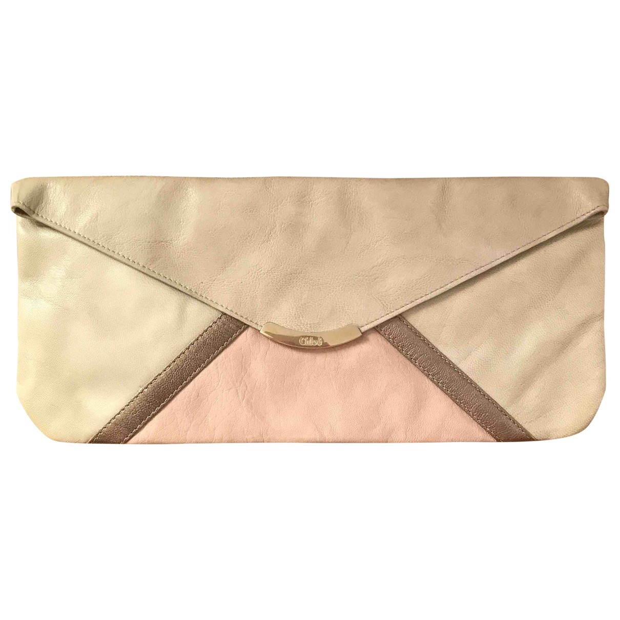 Chloe \N Clutch in  Bunt Leder