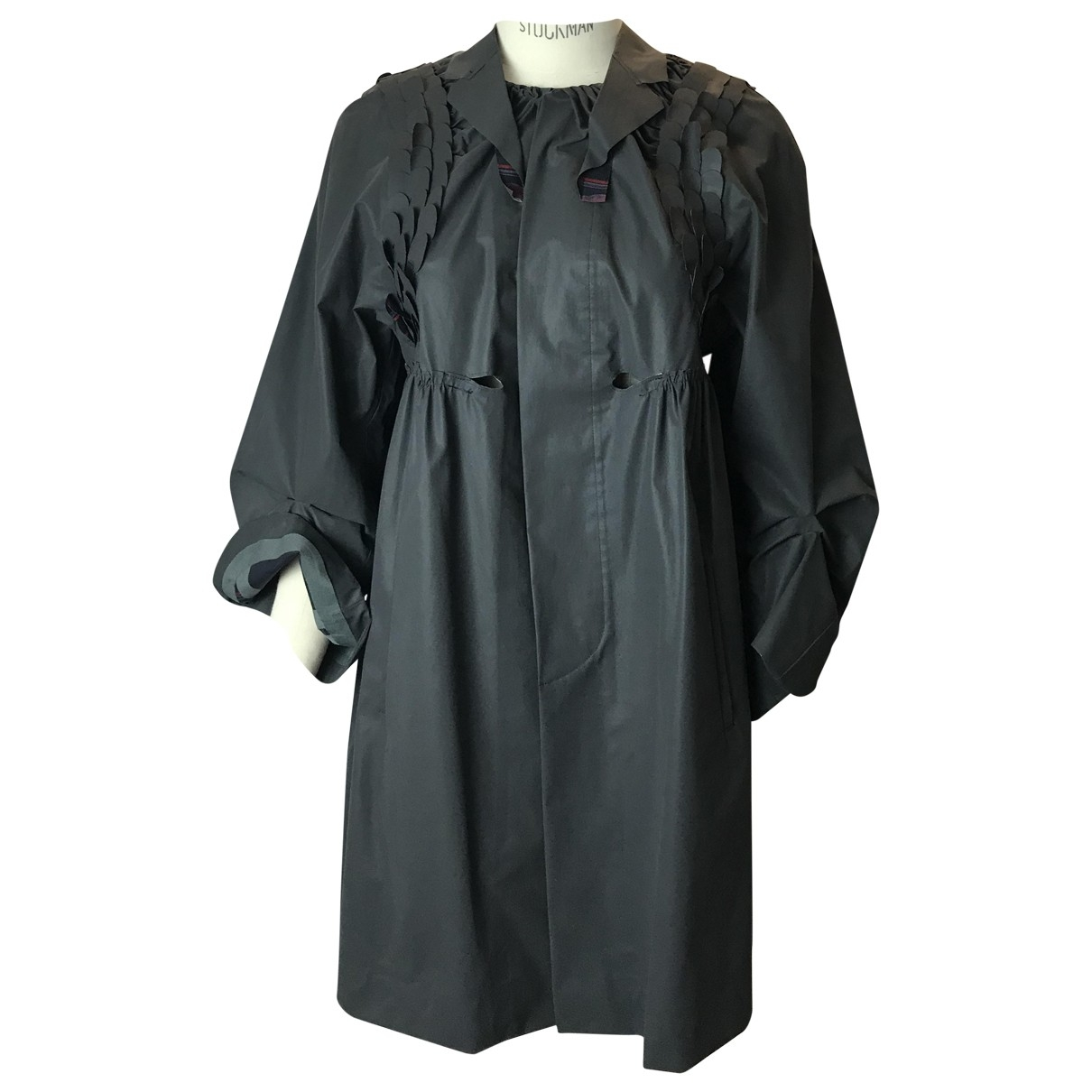 Undercover \N Anthracite Cotton Trench coat for Women 2 0-5