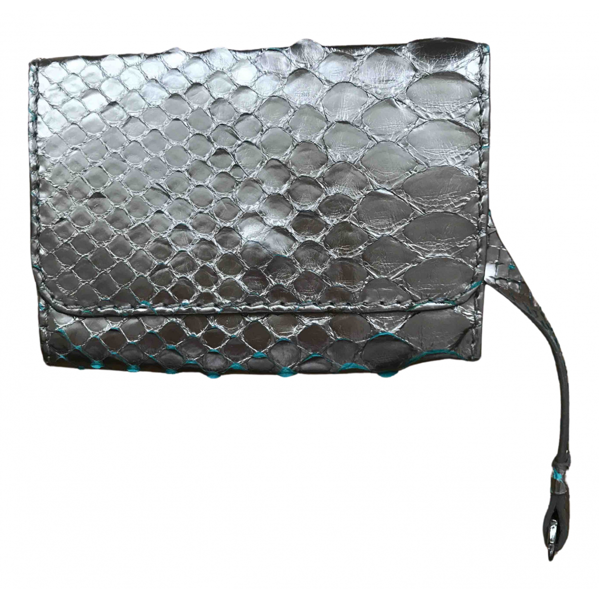 Chloé N Metallic Python wallet for Women N
