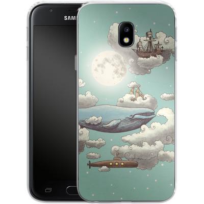 Samsung Galaxy J3 (2017) Silikon Handyhuelle - Ocean Meets Sky von Terry Fan