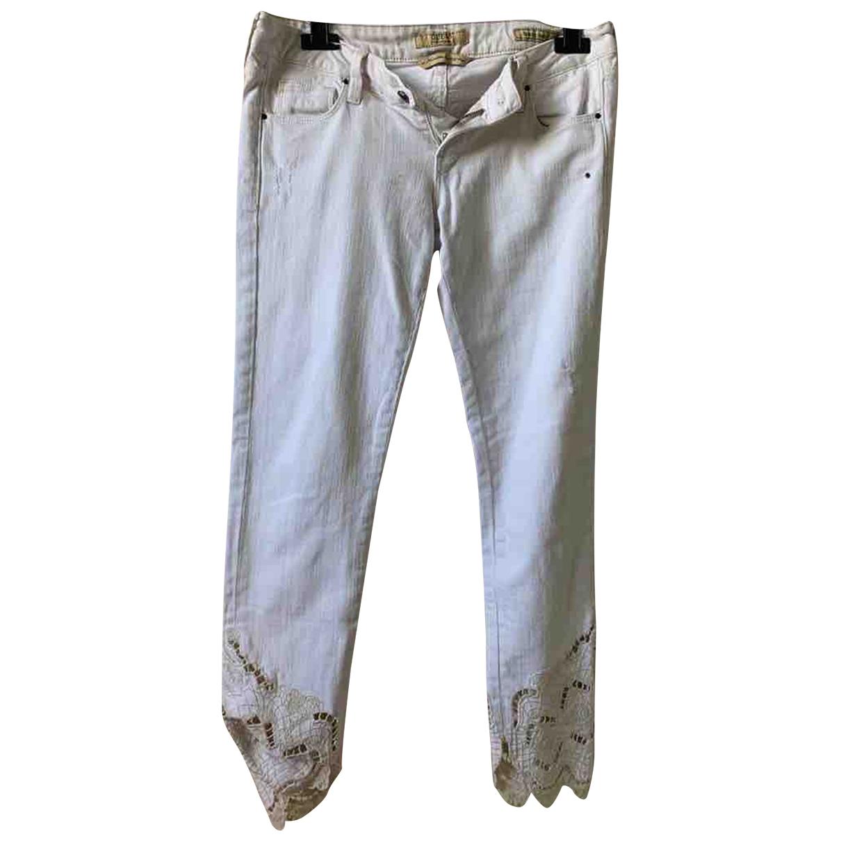 Guess \N Beige Denim - Jeans Jeans for Women 27 US