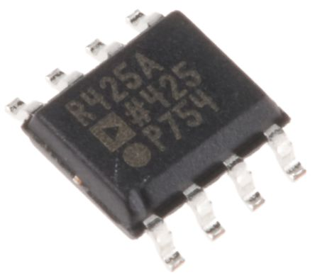 Analog Devices ADR425ARZ, Fixed Series Voltage Reference 5V, ±0.13 % 8-Pin, SOIC