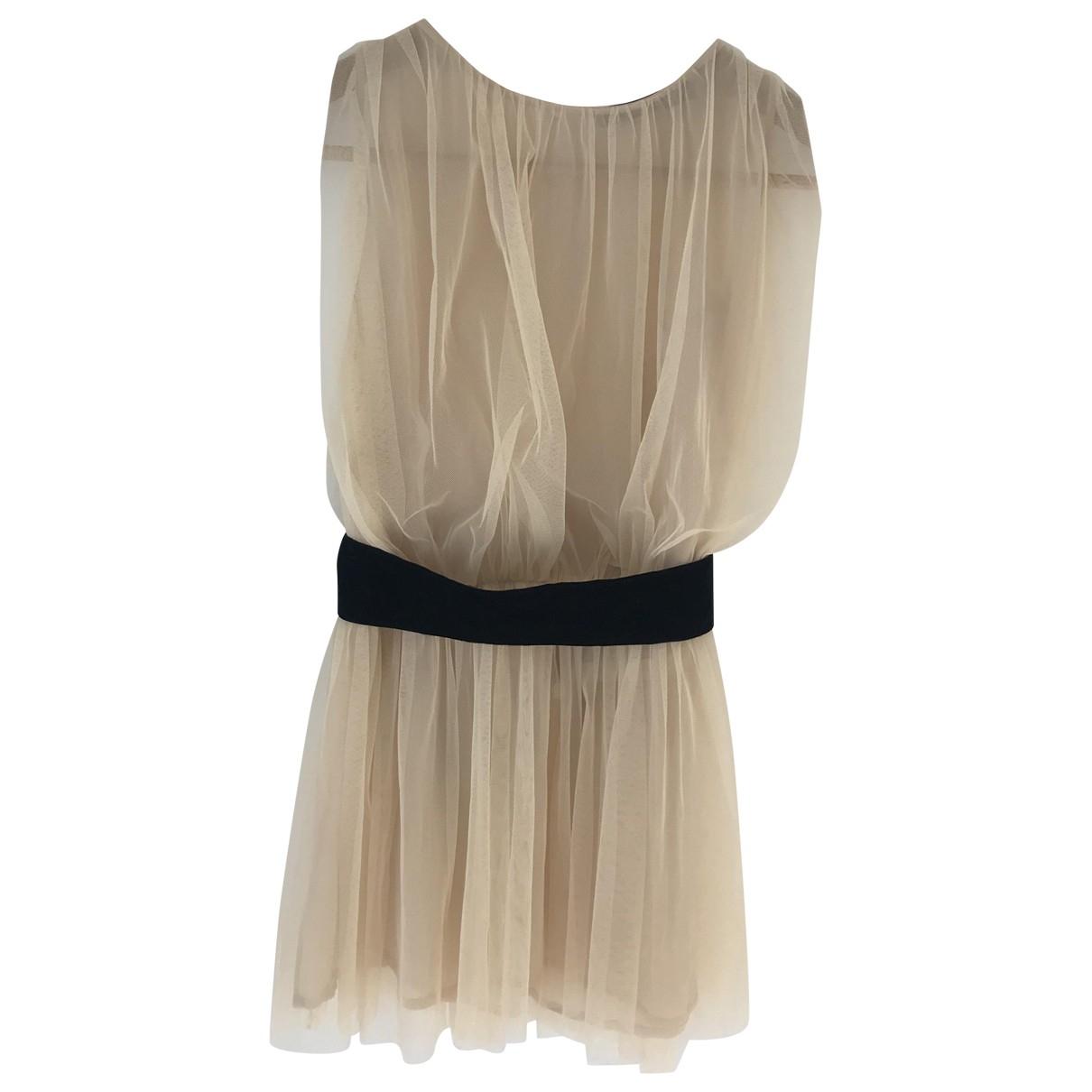 Max Mara \N Beige Silk  top for Women 40 IT