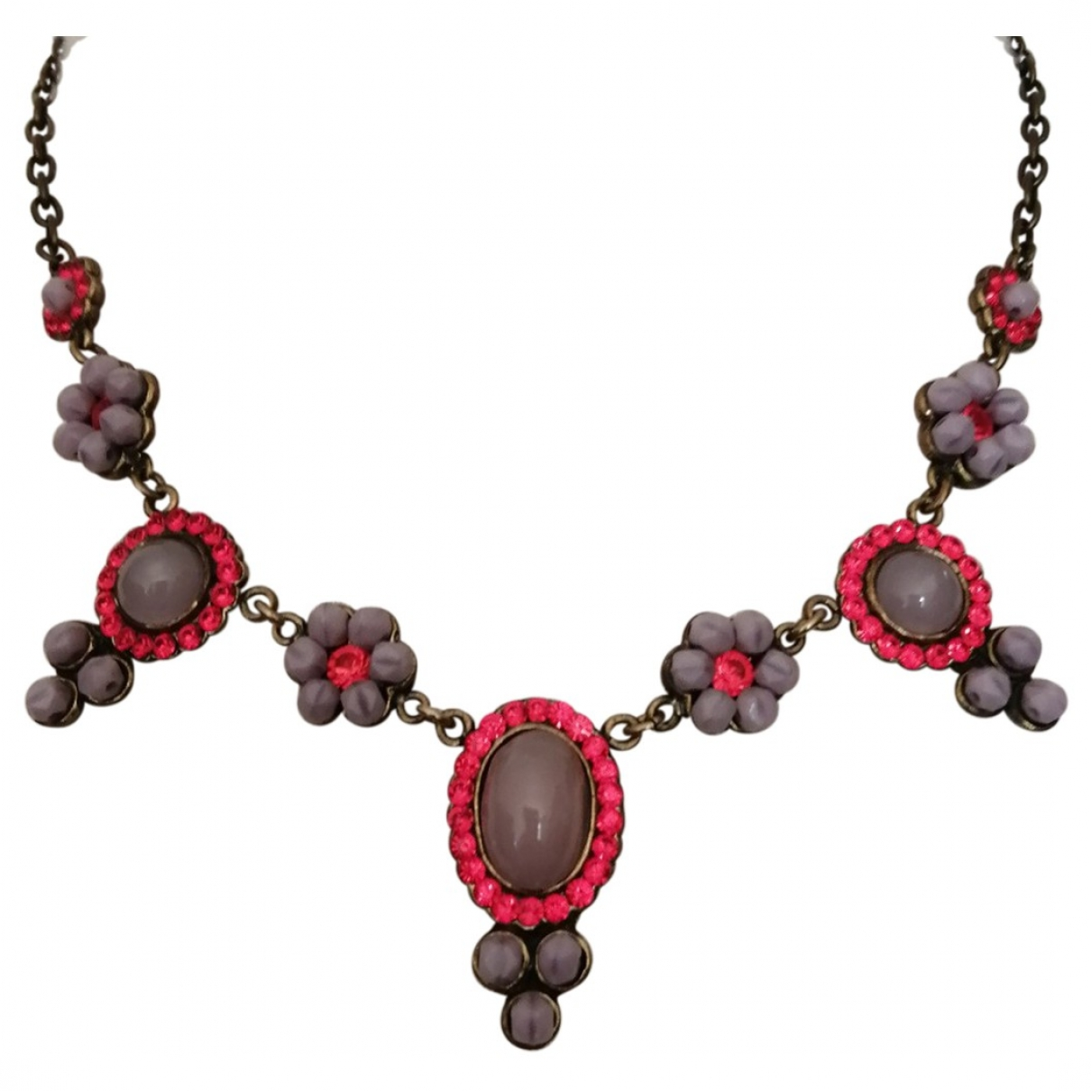 Poggi \N Multicolour Metal necklace for Women \N