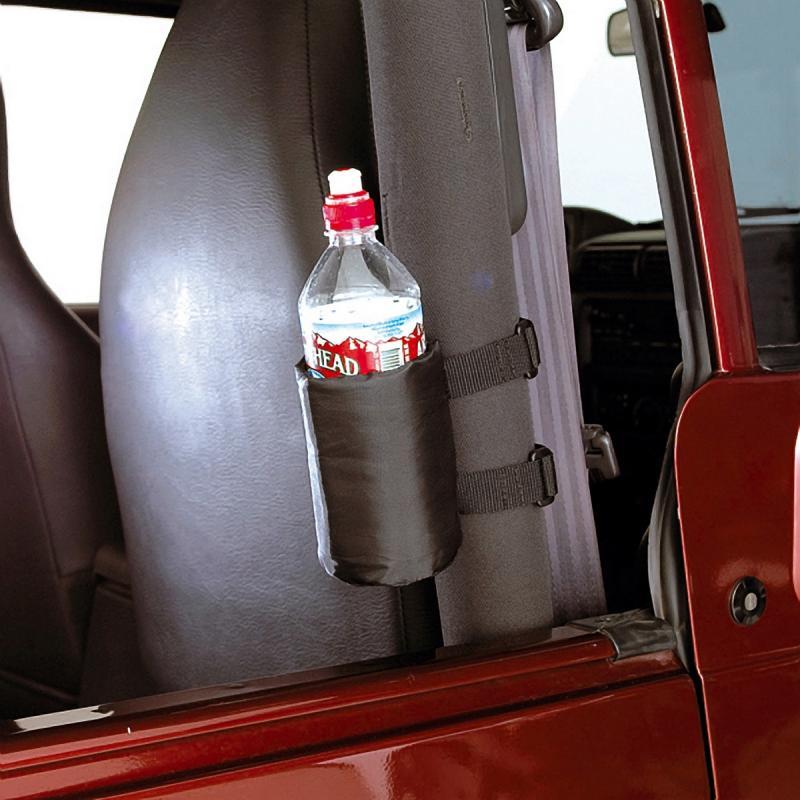 Rugged Ridge 12101.51 Sport Bar Drink Holder, Pair; 55-18 Jeep CJ/Wrangler YJ/TJ/JK Jeep