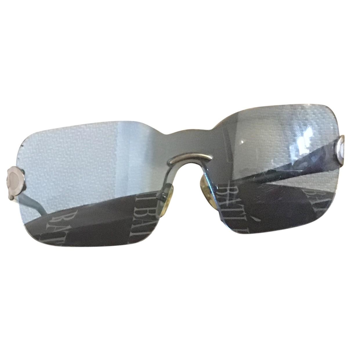 Salvatore Ferragamo \N Sonnenbrillen in  Blau Kunststoff