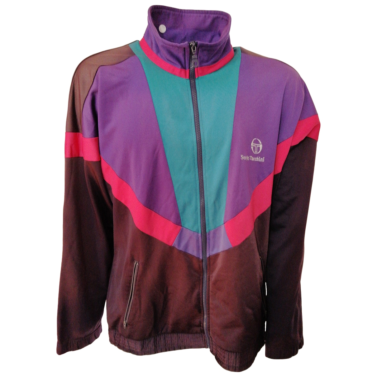Sergio Tacchini \N Pullover.Westen.Sweatshirts  in  Bunt Polyester