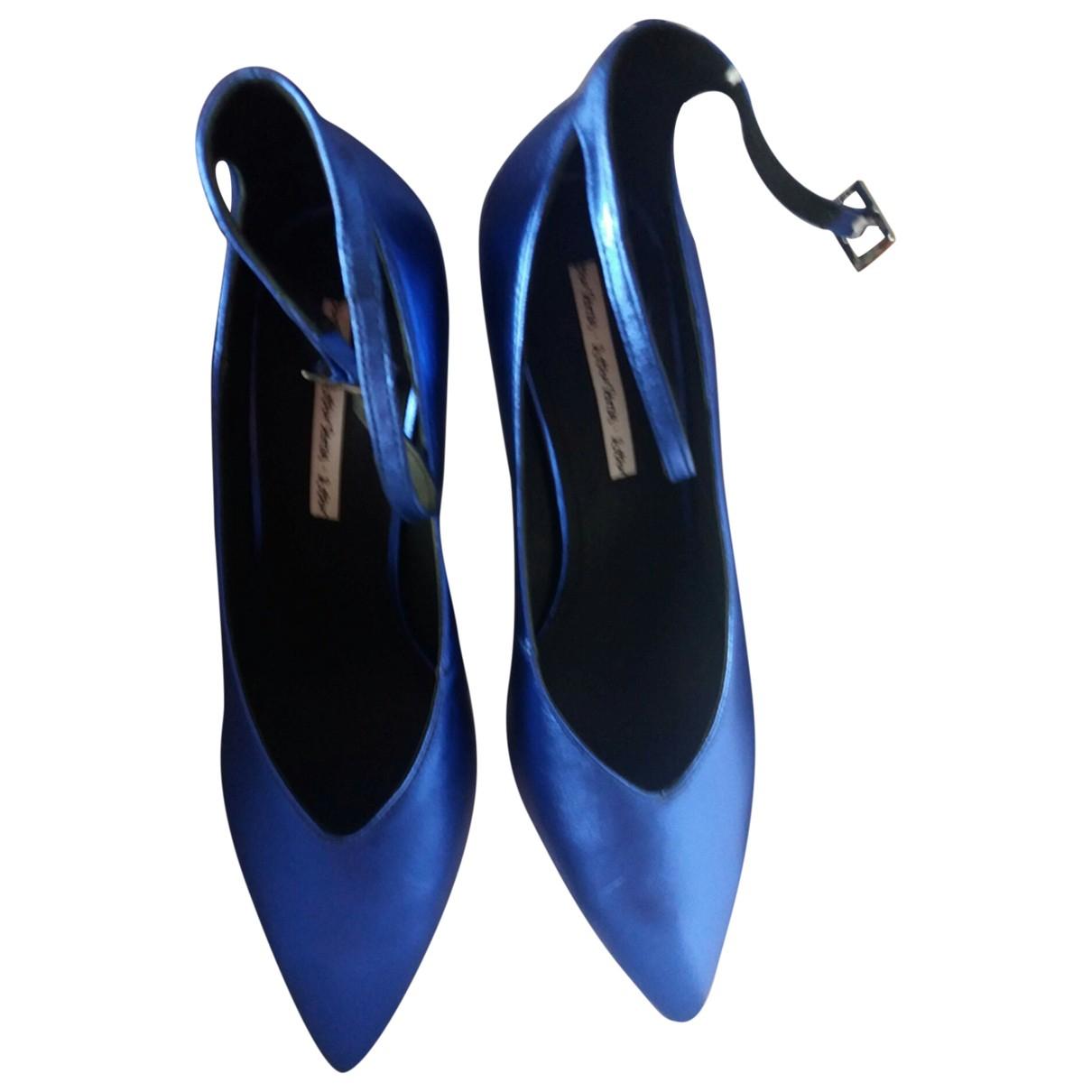 & Other Stories \N Pumps in  Blau Leder