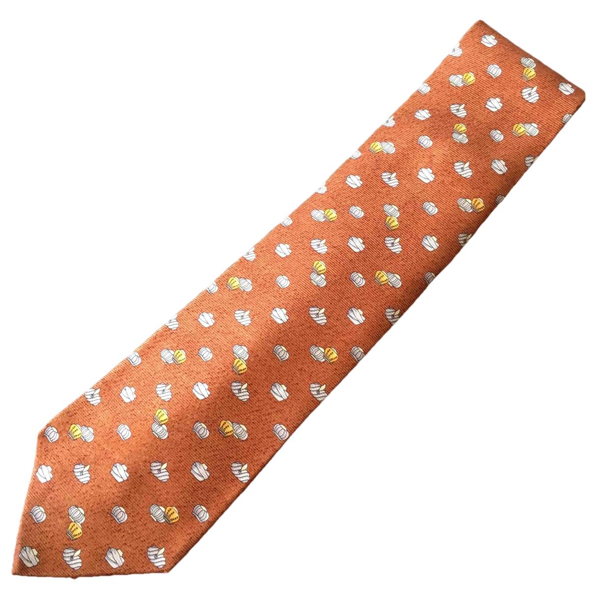 Bvlgari - Cravates   pour homme en soie - marron
